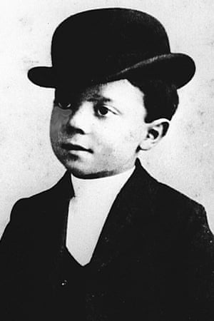 Buster Keaton as a child.