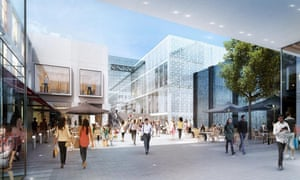 The Westfield and Hammerson retail development in Croydon.
