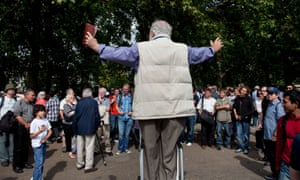 Speakers' Corner is an area where public speaking is allowed, and any subject is allowed.