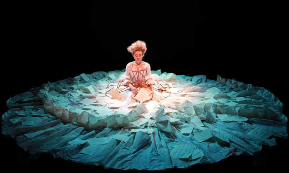 Sylvia Milo as Nannerl Mozart in The Other Mozart