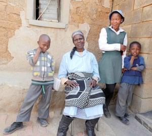 Mapheello Palaoane in Lesotho