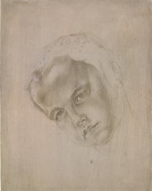 Albrecht Dürer, Head of a Boy, inclined to left, c 1505/1507.