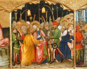 The kiss of Judas.