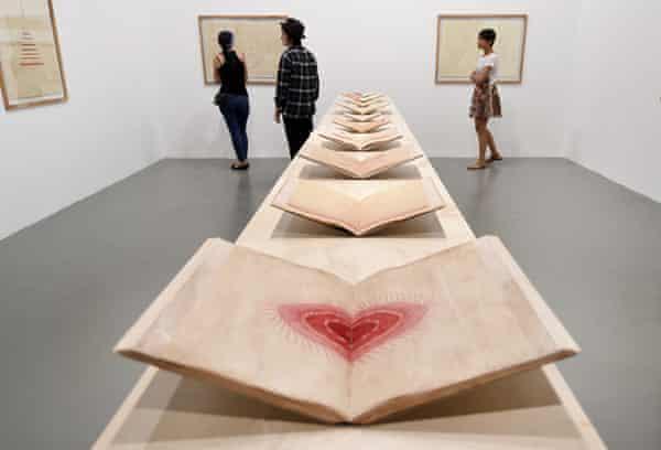 'Red' by Asli Çavuşoğlu at Istanbul Modern.