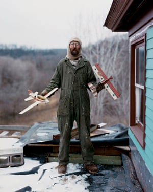 Charles, Vasa, Minnesota, from Sleeping by the Mississippi by Alec Soth