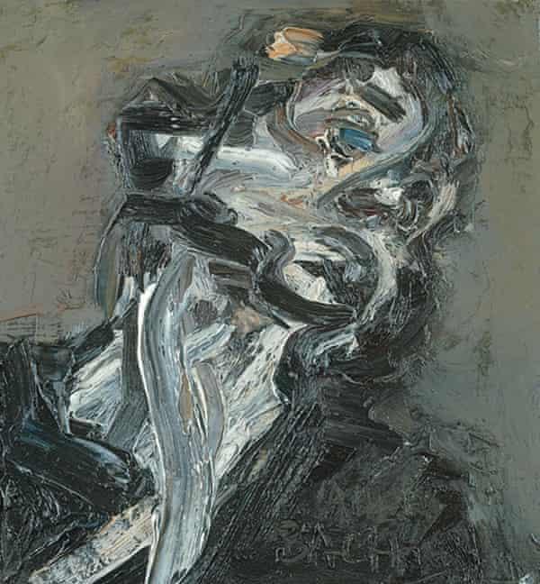 Head of JYM II, 1984-85, by Frank Auerbach