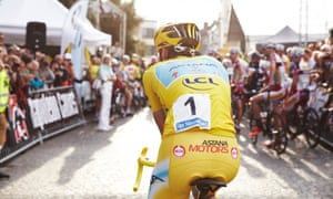 A shot of the Natourcriterium in Aalst, Belgium, part of Cycle World