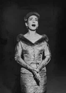 Opera singer Maria Callas.