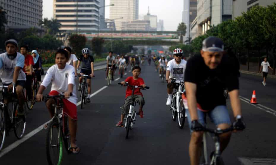 Jakarta car free day