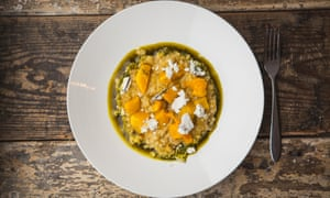 At Silo in Brighton, the chefs serve a risotto dish made with waste milk curd.