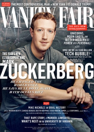 Vanity Fair October cover 2015.