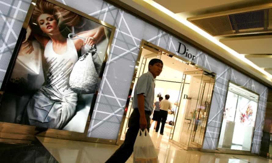 Dior store in Beijing