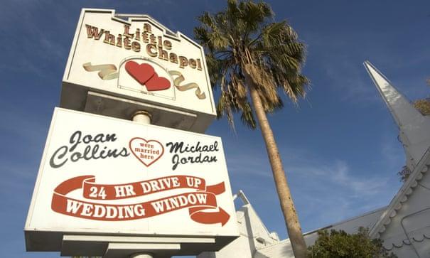 Has Las Vegas lost its allure as the capital of weddings