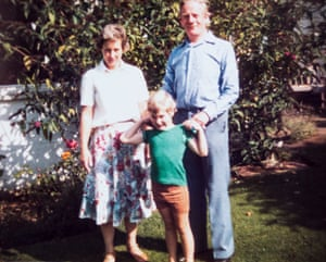 Jackman with his mother and father.