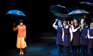 The outrageous Miss Jean Brodie with her schoolgirls in a Royal & Derngate theatrical adaptation of Muriel Spark's novel The Prime of Miss Jean Brodie