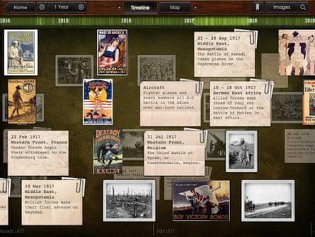 Timeline WW1 with Dan Snow