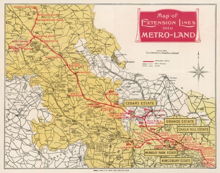 Metroland describes the area of villages stretching from Neasden into the Chiltern Hills.