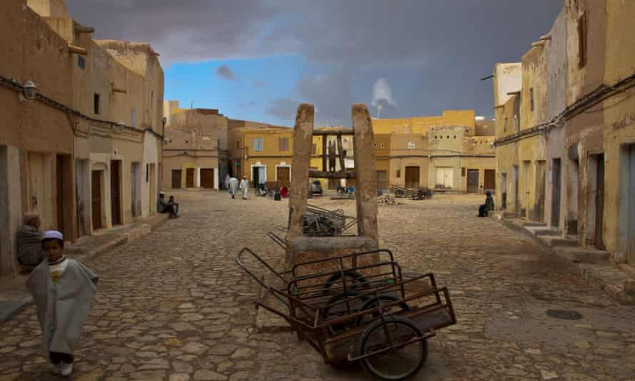 The town square of Beni Isguen, Algeria