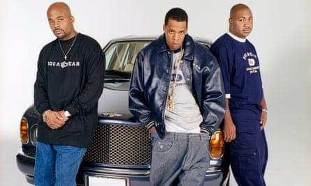 Damon Dash, Jay Z, and Kareem