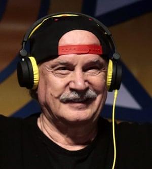 DJ Giorgio Moroder.