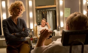 Press notes on a scandal ... Cate Blanchett and Robert Redford in Truth