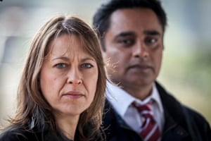 Nicola Walker and Sanjeev Bhaskar star in Unforgotten
