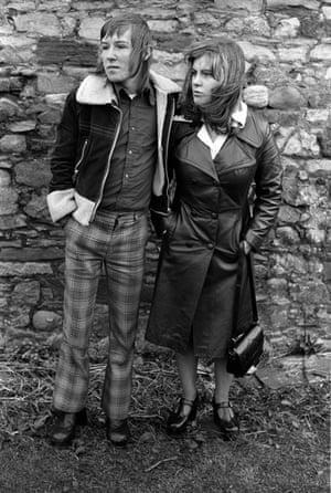 Margaret and Barry Kirkbride, Workington, Cumbria, 1975