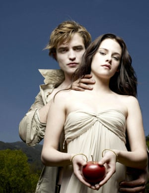 Twilight years: with former girlfriend and co-star Kristen Stewart.
