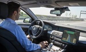 BMW self-driving