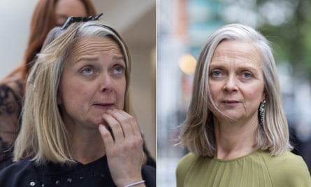 Alyson Walsh before and after.