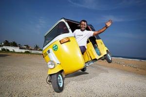 Jagathish - Longest Side Wheelie Auto Rickshaw