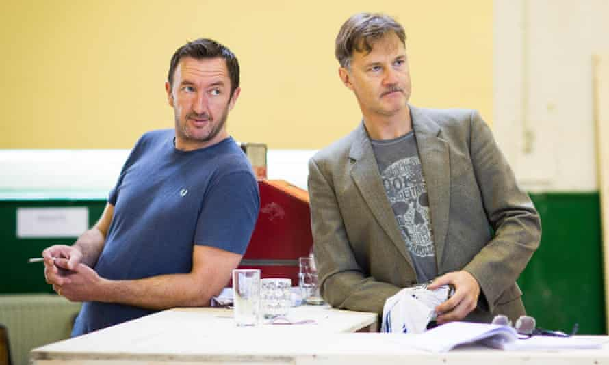 Ralph Ineson and David Morrissey in Hangmen