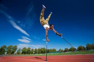Tameru Zegeye - Fastest 100m On Crutches Guinness World Recordswebgallery guinness