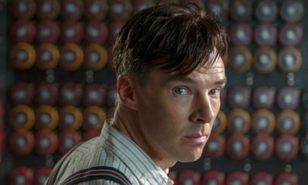 Benedict Cumberbatch, who plays genius code breaker Alan Turning in the film The Imitation Game.