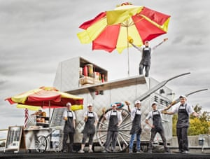 Marcus Daily - Largest Hot Dog Cart