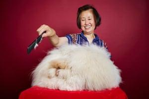 Franchesca - Longest Fur On A Rabbit. Owner Betty Chu