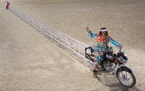 Bharat Sinh Parmar - Longest Motorcycle