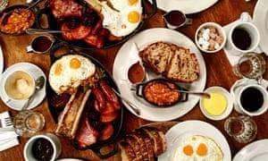 breakfast at hawksmoor