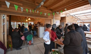 'We learn from each other' … residents enjoy the community atmosphere at Agrocité.