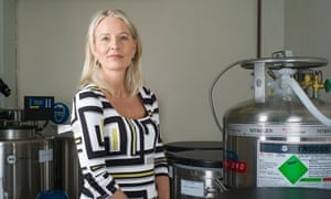 Ready to be a donor?: Laura Witjens, head of Britain's only sperm bank