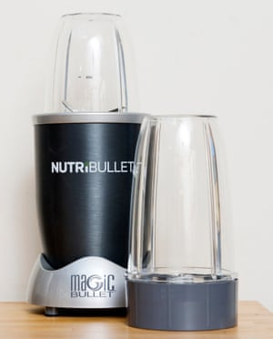Lovely texture ... the Nutribullet. Photograph: Linda Nylind