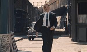 Tom Hardy as Reggie Kray.