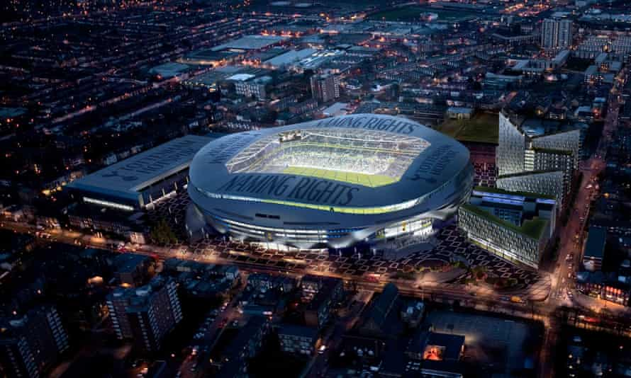 Tottenham's proposed new stadium, which should be ready for the 2018-19 season.
