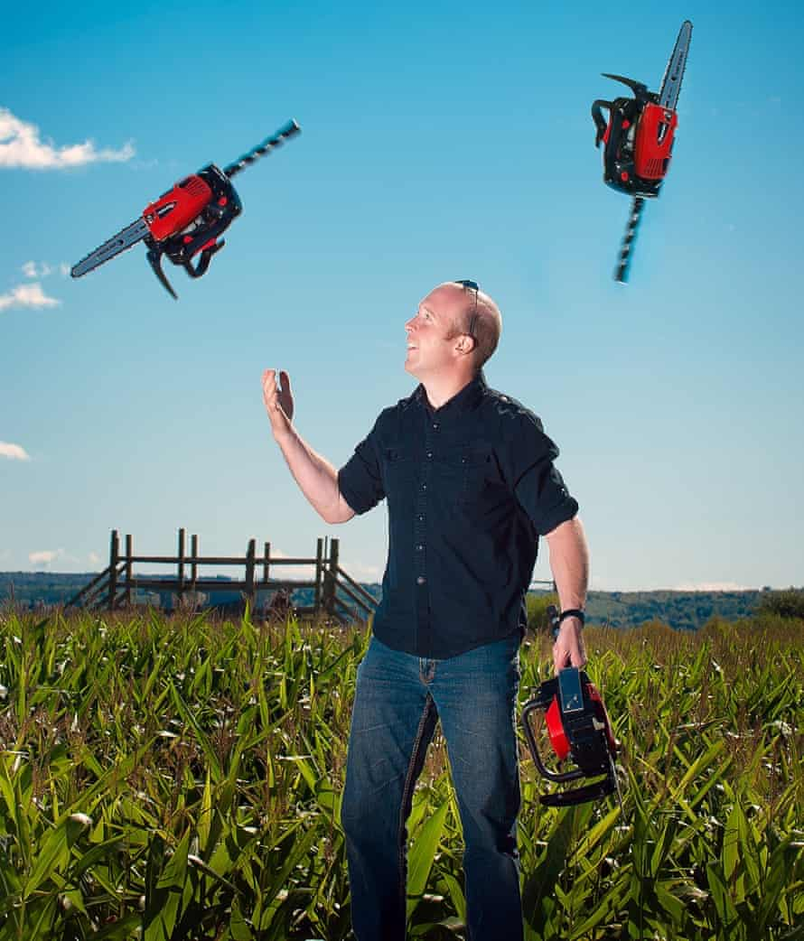Ian Stewart: 'I bought my first chainsaw when I was 18.'
