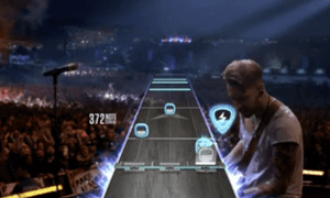 Guitar Hero on Apple TV