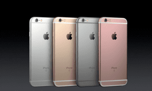 iPhone 6S available in four colours