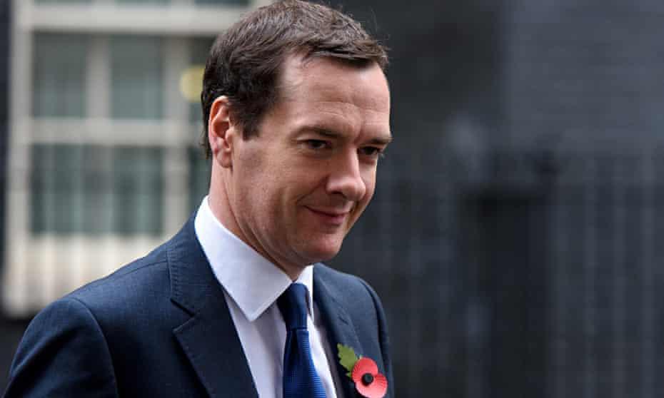 Chancellor George Osborne Departs Downing Street