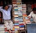 A bookseller in Calcutta