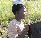 Katine schoolgirl Magdalene Atai