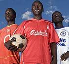The Katine Actors football team